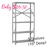 Another HOT Shelf Deal~Only $26 (deeper shelves)