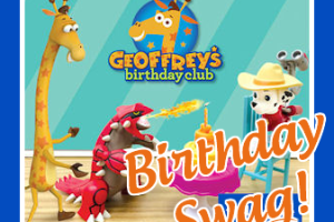 Free Geoffrey Birthday Swag at Toys R Us!