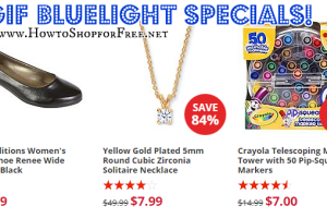 TGIF! :) Here's Your Bluelight Specials!