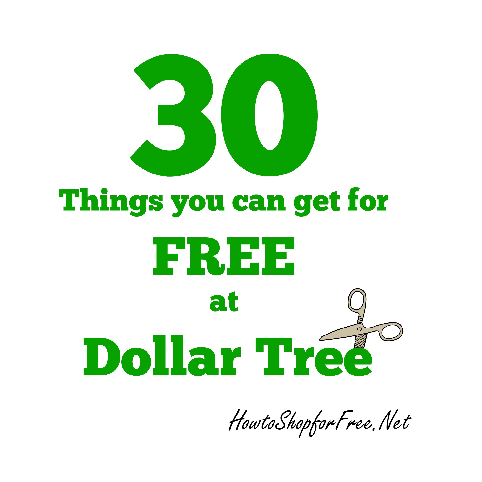 30 Things you can get for FREE at Dollar Tree | How to Shop For Free ...