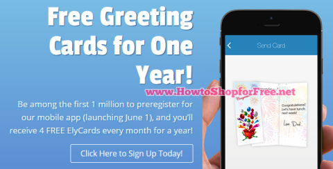 Elycards free 1yr how to shop for free with kathy spencer free elycards greeting cards for 1 year m4hsunfo
