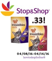Mew Mix Irresistibles only .33 at Stop & Shop!
