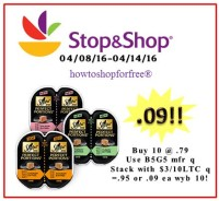 Sheba Perfect Portions Cat Food only .09 at Stop & Shop!