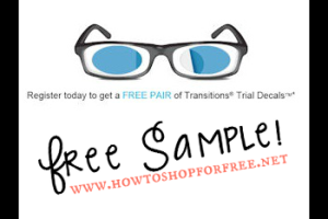 Free Pair of Transitions Lenses Decals