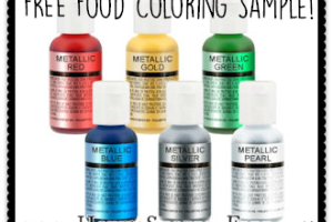 Free Sample of Chefmaster Food Coloring!