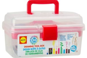 LESS Than $14 Artist Studio Tool Box (64% OFF)