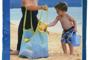 HUGE Mesh Tote for Beach Toys & more! $4.81 SHIPPED!