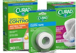 CURAD-Bandage-Gauze-Tape-Product