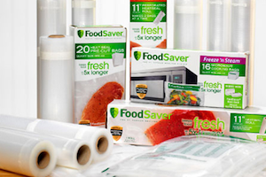 Own a FoodSaver? Save on Bags with NEW Qs!