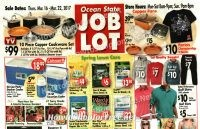 Ocean State Job Lot Ad Scan ~ March 18-22