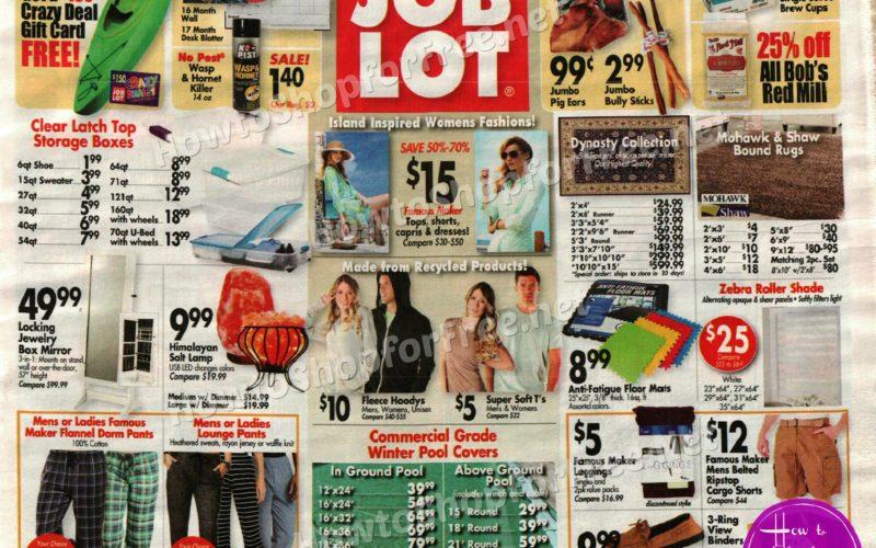 Ocean State Job Lot Ad Scan +New Deals! (8/17-23)
