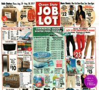 Ocean State Job Lot Ad Scan + Deals, 8/24-8/30