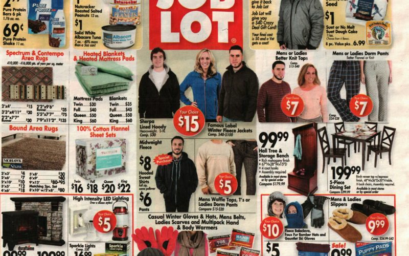 Job Lot shoppers~ The NEW Ad is Up! (10/19-25)