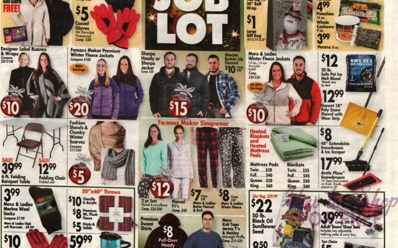 NEW Job Lot Ad for 12/14-12/20!! (HOT Ad!)