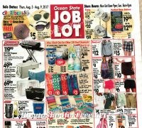 Ocean State Job Lot Ad Scan, 8/3-9