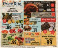 PriceRite Ad Scan, Oct. 20 – Nov. 09