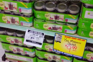 $7.99 Canning Jars (12ct) @ OSJL! Through 6/1