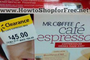 Mr. Coffee Espresso Maker 50% off @ Walmart (YMMV)