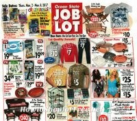 Ocean State Job Lot Ad Scan + Deals ~ March 2-8