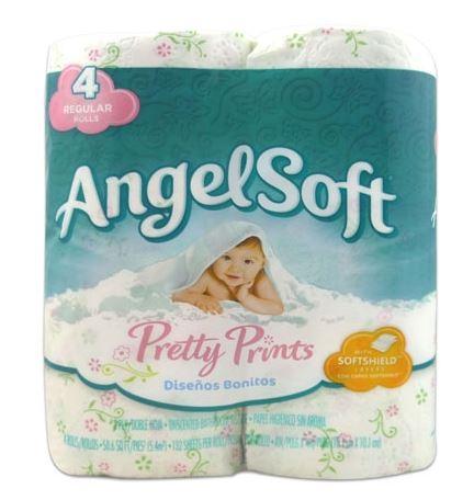 angel soft pretty prints