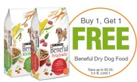 2 FREE Bags of Beneful at Shaw's