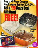 Copper Cookware Set HALF OFF with Crazy Deal!