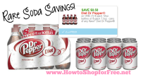 Save on Diet Dr. Pepper with RARE Printable!