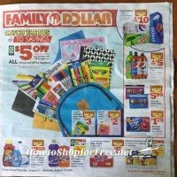 SUPER EARLY 8/15 – 8/21 Family Dollar Ad Scan!