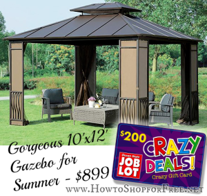 200 Off Gazebo How To Shop For Free With Kathy Spencer