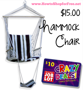 graphic about Ocean State Job Lots Coupons Printable identified as $15 Hammock Chair! How towards Store For Absolutely free with Kathy Spencer