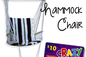 $15 Hammock Chair @ Ocean State Job Lot
