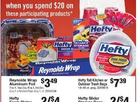 Reynolds Wrap/Hefty Deal at Stop & Shop!