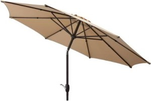 9ft. Umbrella for Summer—$30 +FREE Store Pickup!