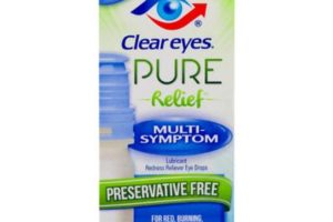 NEW $2/1 Clear Eyes Pure Relief +Walmart Deal