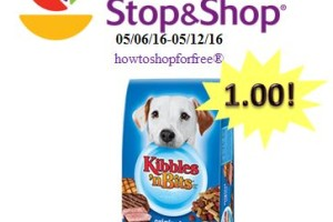 Kibbles 'n Bits Dog Food only 1.00 at Stop & Shop!