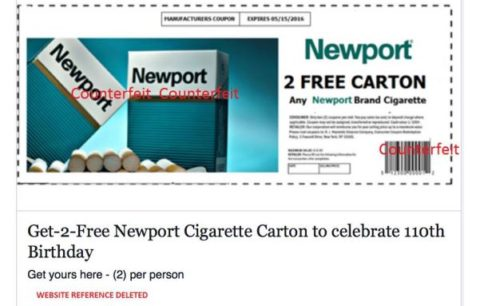 printable cigarette coupons newport counterfeit how to shop for free with 24062 | newport 480x306