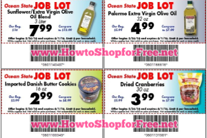 graphic about Ocean State Job Lot Coupons Printable known as ocean place endeavor great deal discount codes How toward Retailer For Absolutely free with