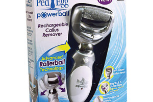 "As Seen On TV: Rechargeable ""Ped Egg"" ONLY $14.79!"