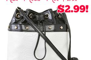 Nicki Minaj Mini Purse ONLY $2.99! (reg. $23)