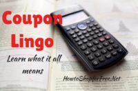 Couponing 101 – Learning the Lingo