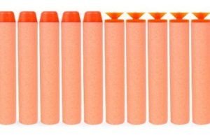 72¢ SHIPPED—10pc. Toy Darts for Blaster Nerf Gun!