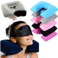 $3.71 SHIPPED—Inflatable Neck Pillow!
