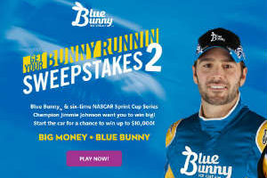 Enter Blue Bunny Instant Win & Get a Coupon!