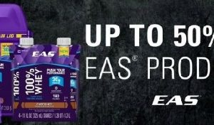 Today Only—Up to 50% off EAS Products