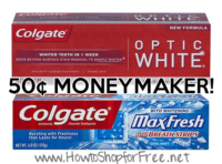 50¢ MM Colgate Toothpaste @ Walgreen's (6/12-18)