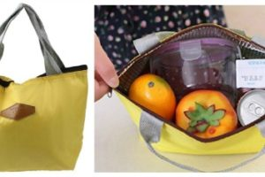 $2.99 Waterproof+Insulated Lunch Tote! +FREE S&H