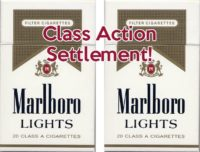 Marlboro Light Settlement—No Purchase Necessary