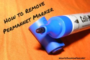 How to Remove Permanent Marker from just about Everything