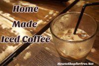 Home Made Iced Coffee Recipe