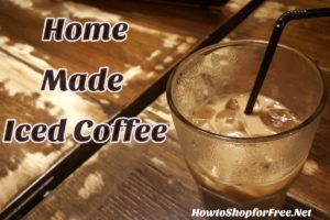 Home Made Iced Coffee Recipe